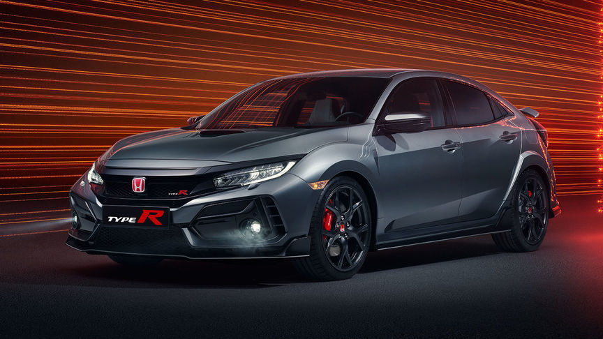 Honda Civic Type R Sport, 3/4-Frontansicht
