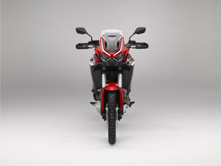 Honda Africa Twin, Frontansicht