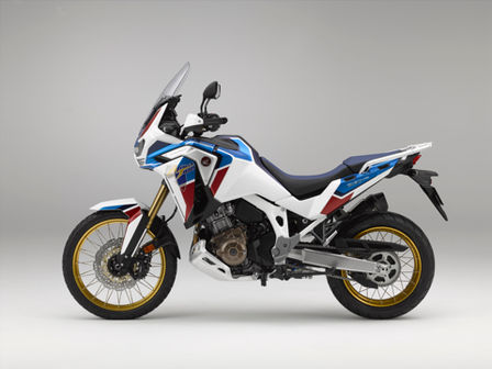 Honda Africa Twin Adventure Sports, linke Seite